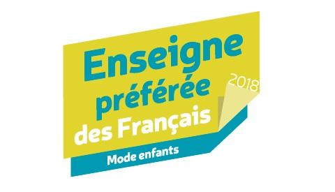 be1647f19eafa 14.02 Okaïdi remporte le Trophée de L Enseigne Préférée des Français dans  la catégorie Mode Enfants